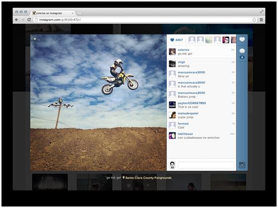 Instagram запускает веб-профили. Изображение № 2.