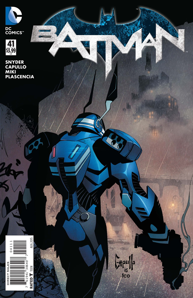 В комиксах новым Бэтменом стал комиссар Гордон. Изображение № 1.