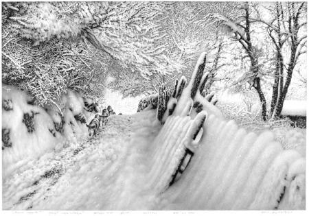 Нарисованный снег, который можно потрогать. Изображение № 2.