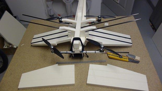 Энтузиаст собрал дрон в виде истребителя X-Wing. Изображение № 9.