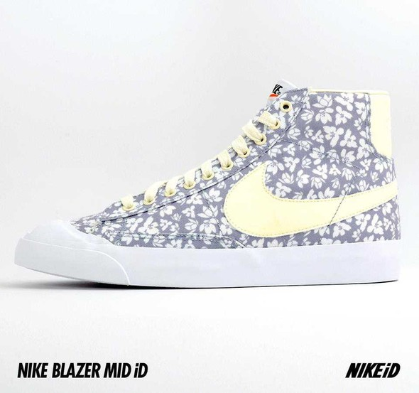 Nike X Liberty Summer Collection/  Blazer Mid iD.. Изображение № 22.