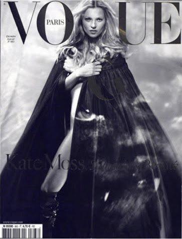 Кейт Мосс на обложках vogue. Изображение № 14.