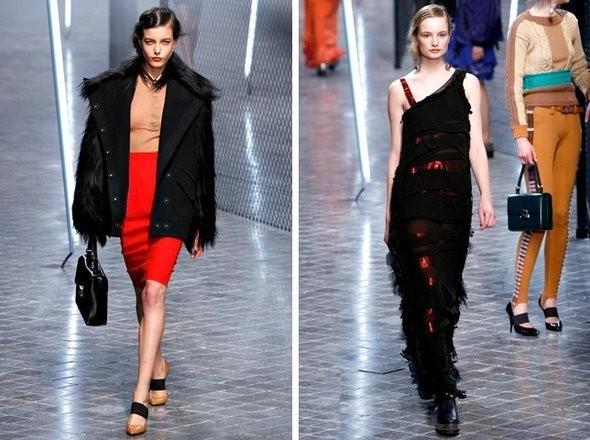 Изображение 17. Показы на Paris Fashion Week FW 2011: день 5 и 6.. Изображение № 34.