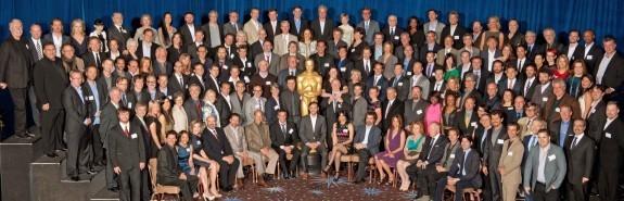 Все номинанты на «Оскар-2012» на одном фото. Изображение № 4.