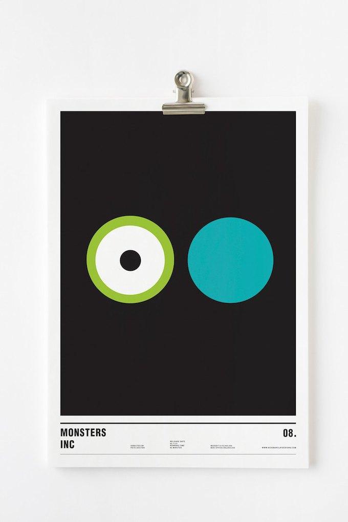 Концепт: постеры к фильмам только из кругов . Изображение № 8.