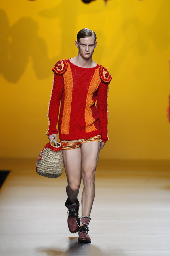 Madrid Fashion Week SS 2012: Francis Montesinos. Изображение № 5.