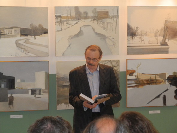 Презентация книги и открытие выставки легендарного Владимира Шинкарева. Изображение № 1.