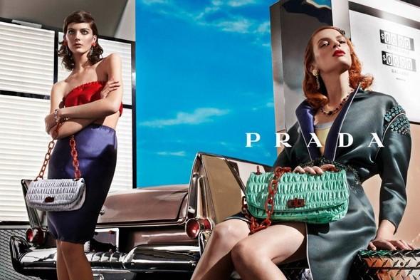 Кампания: Prada SS 2012. Изображение № 8.