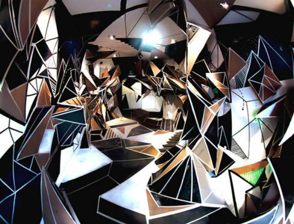 Найдено за неделю: Интерьеры Роя Лихтенштейна, неон-арт и граффити с гейшами. Изображение № 8.