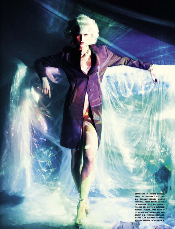 Dazed & Confused, Fat, Vogue и другие журналы выпустили новые съемки. Изображение № 58.