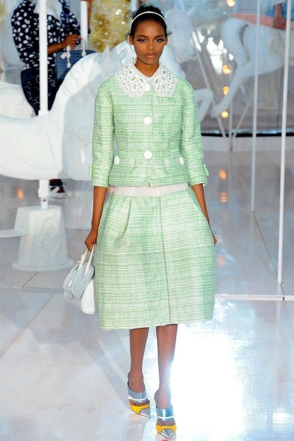 Неделя моды в Париже: Louis Vuitton весна 2012. Изображение № 6.