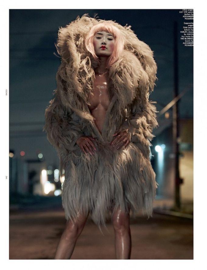 Dazed & Confused, Fat, Vogue и другие журналы выпустили новые съемки. Изображение № 71.