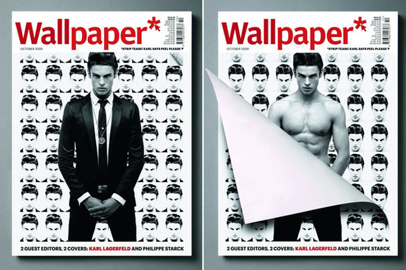 Baptiste Giabiconi for Wallpaper October 2009. Изображение № 1.