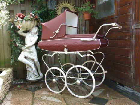 Ретро – kinderwagen, stroller илидетская коляска. Изображение №9.