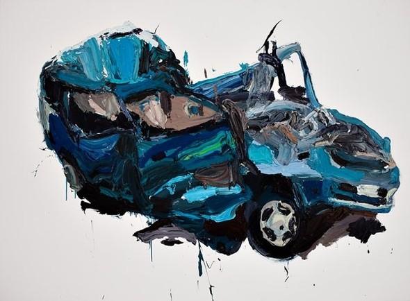 Абстрактные автомобили Бена Куильти. Изображение № 2.