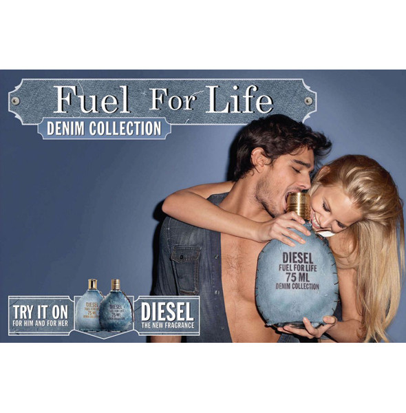 Изображение 1. Бьюти-кампании: Diesel и Dior.. Изображение № 1.