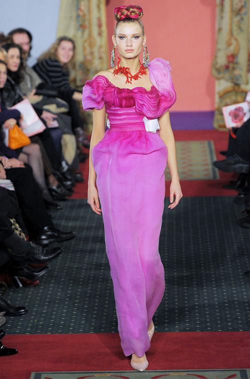 Неделя высокой моды вПариже: Кристиан Лакруа. Изображение № 1.