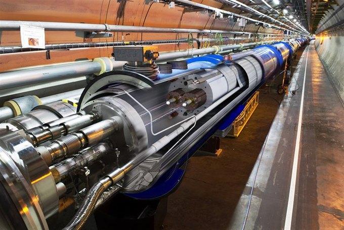 Участок Большого адронного коллайдера. Изображение № 1.