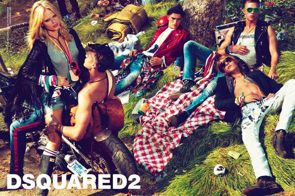 Превью кампаний: Valentino, Moschino, Dsquared и Jean Paul Gaultier. Изображение № 3.
