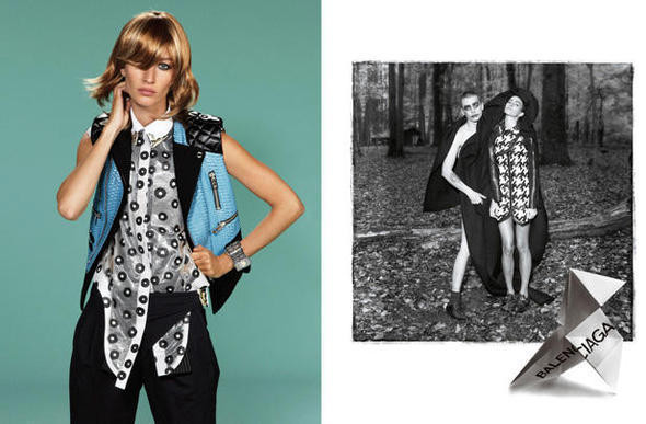 Изображение 2. Рекламные кампании: Lanvin, Prada, Balenciaga и другие.. Изображение № 29.