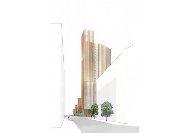 Представлен проект самого высокого деревянного здания. Изображение № 2.