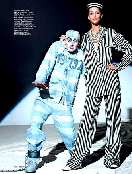 Алана Циммер и Кристал Рэн для Vogue Russia. Изображение № 10.