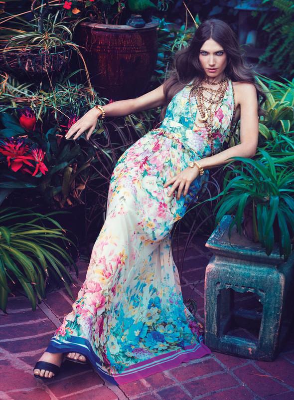 Кампания: Джессика Миллер для Blugirl SS 2012. Изображение № 8.