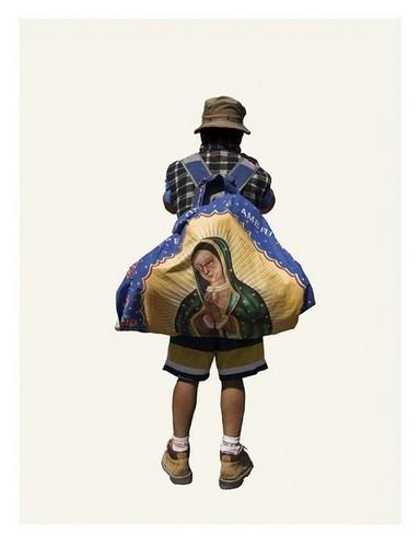 Изображение 2. Арт-портреты мексиканских паломников.. Изображение № 2.