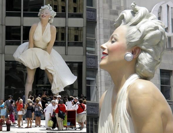Памятник Мэрилин Монро в Чикаго. Изображение № 3.