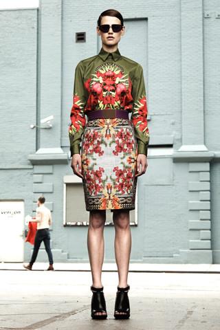 Изображение 6. Лукбуки Resort 2012: Givenchy, Lanvin.. Изображение № 6.
