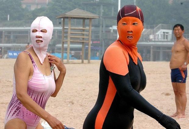 Фейскини - новый тренд пляжной моды в Китае. Изображение № 2.
