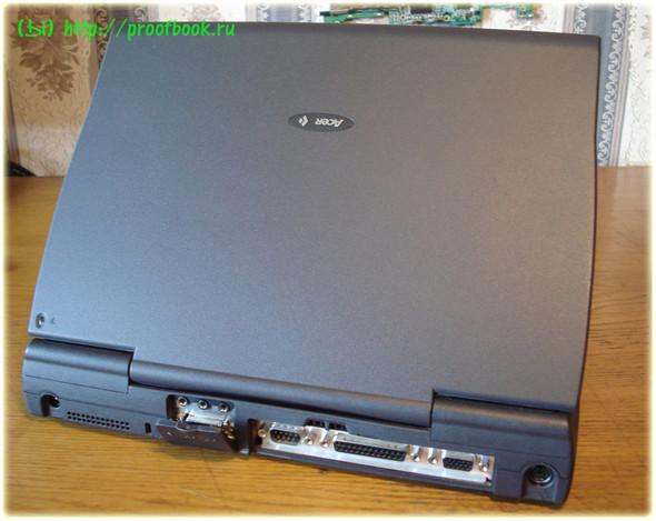 Ретро: Обзор ноутбука AcerNote Light 370DX 1996года. Изображение № 4.