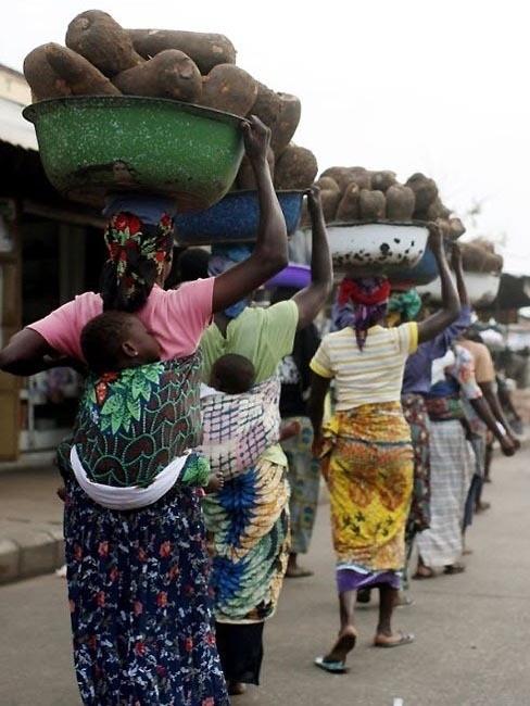 Изображение 18. Рыночные девушки из Ганы.. Изображение № 18.