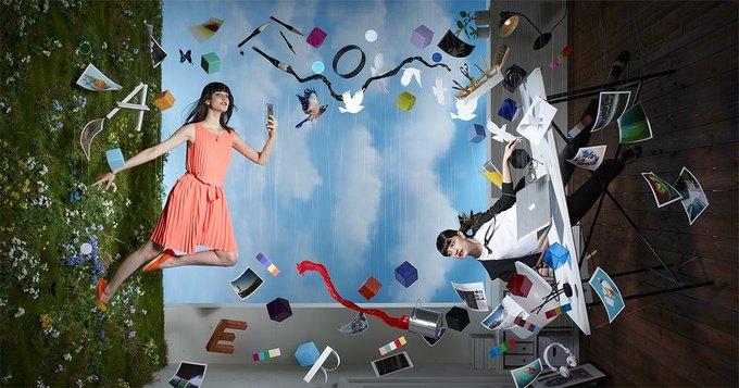 Adobe показала работу над промофото CC 2015 . Изображение № 6.