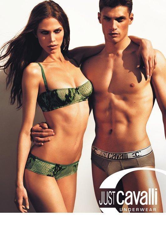 Превью кампаний: Just Cavalli Undewear & Eyewear FW 2011. Изображение № 1.