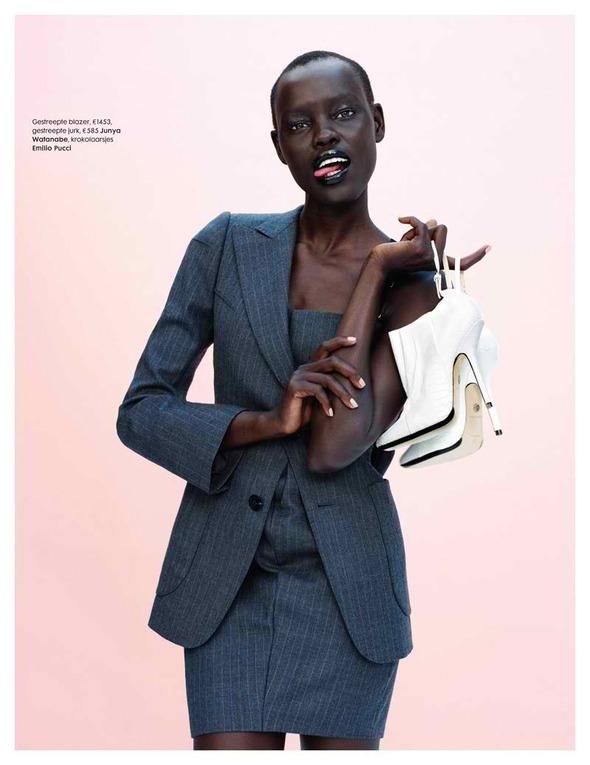 Новые съемки: Vogue, V, Elle и другие. Изображение № 15.