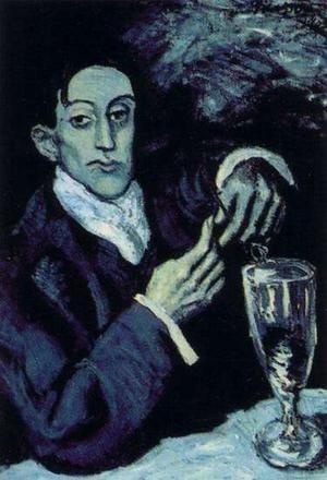 Пабло Пикассо, Портрет Анхеля Фернандеса де Сото. Изображение № 30.
