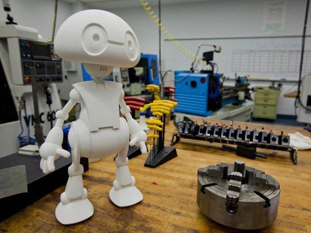 Intel позволит распечатать личного робота на 3D-принтере. Изображение № 1.