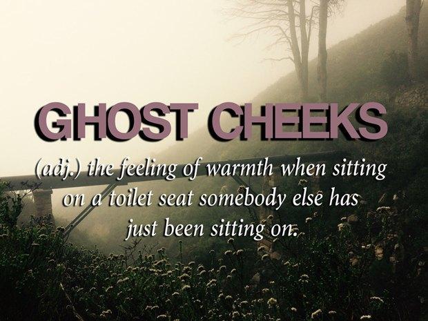 «Ощущение тепла на туалетном сиденье, на котором [недавно] сидел кто-то ещё». Изображение № 15.