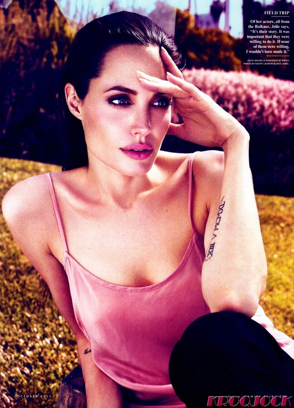 Съёмка: Анджелина Джоли для Vanity Fair. Изображение № 4.
