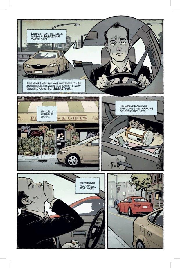 Выложены 6 страниц комикса-сиквела «Бойцовского клуба». Изображение № 2.