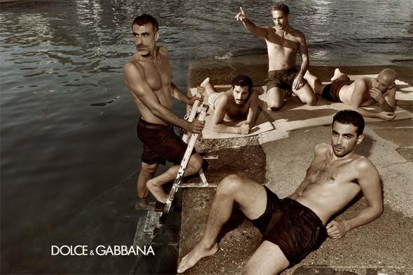 Кампания: Dolce & Gabbana SS 2012 Men. Изображение № 7.