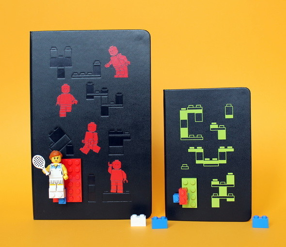 Новая серия Moleskine LEGO. Изображение № 4.
