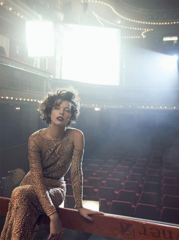 Вышли новые съемки Vogue, i-D, 10 и Interview. Изображение № 52.