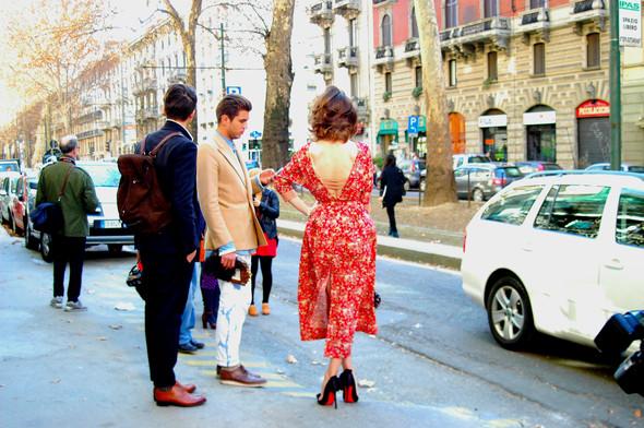 Milan Fashion Week. За кадром. Изображение № 18.