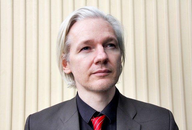 Создатель WikiLeaks Джулиан Ассанж. Изображение № 1.