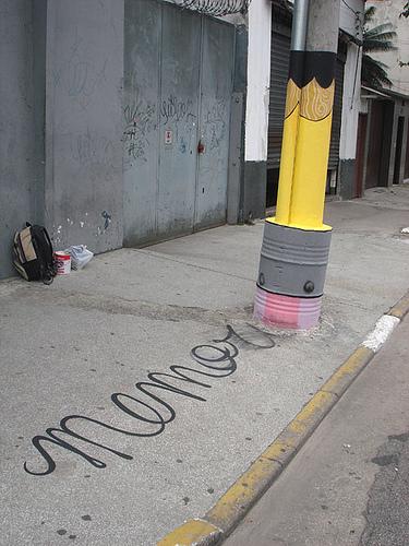 Уличные художники Сан-Пауло делают город веселее. Изображение № 14.