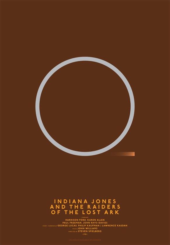 Дизайнер переделал постеры кинохитов в минималистском стиле. Изображение № 11.