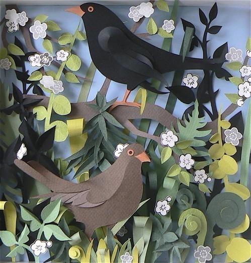 Бумажные картины-аппликации Helen Musselwhite. Изображение № 13.