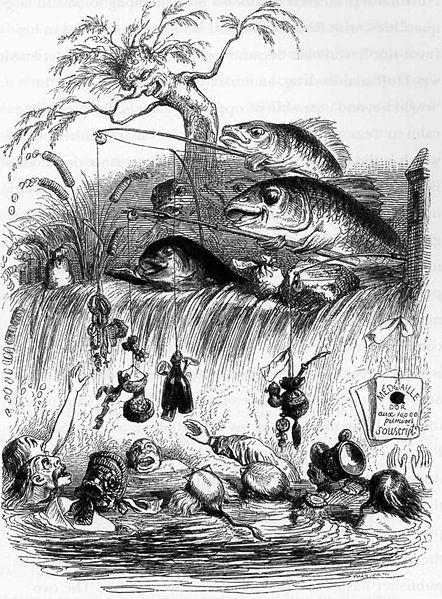 Винтажные иллюстрации J.J. Grandville. Изображение № 9.